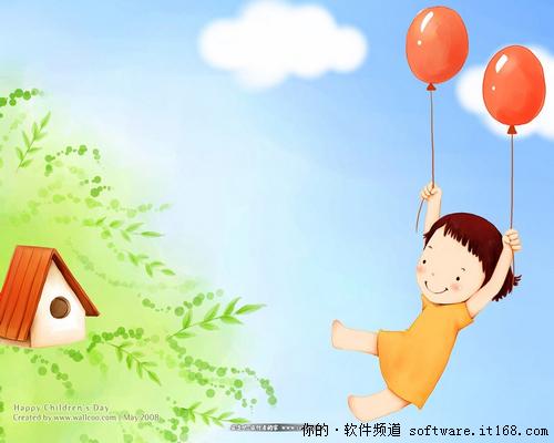 软件频道六一儿童节搞笑短信精选-IT168软的表情会照片小人包动图片