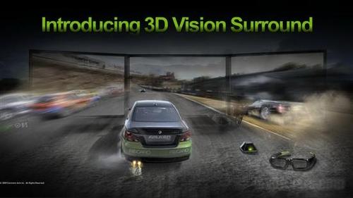 NV太淡定 3D立体三屏驱动将推迟两个月