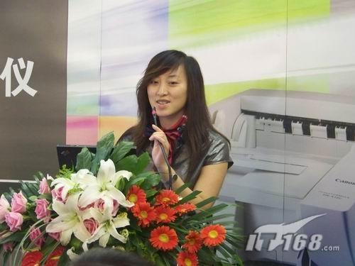 佳能高速扫描仪新品发布—郑州站