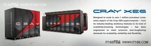 将推12核 Cray发布下一代超级计算机XE6