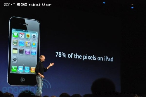 iPhone 4特性之二:Retina显示屏