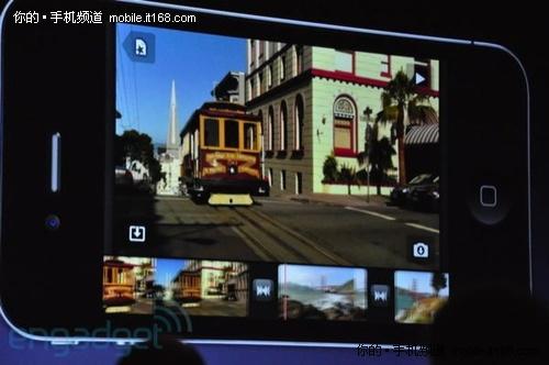 iPhone 4特性之六:500万像素AF摄像头