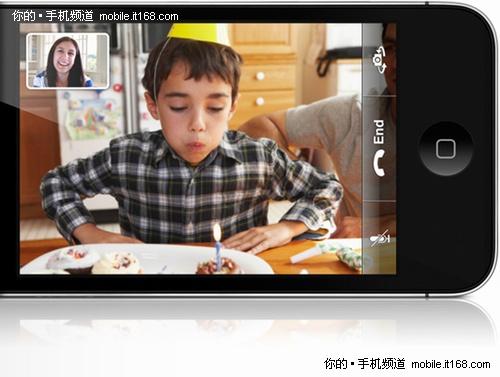 换个方式看世界 iPhone 4 FaceTime功能