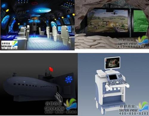 第四代职业儿童体验馆虚拟仿真设备爆光
