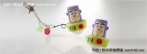 玩具总动员3  威刚科技T006巴斯光年U盘