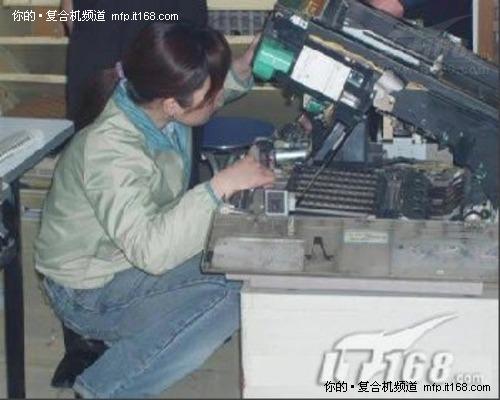 以实例说明复印机的自检功能