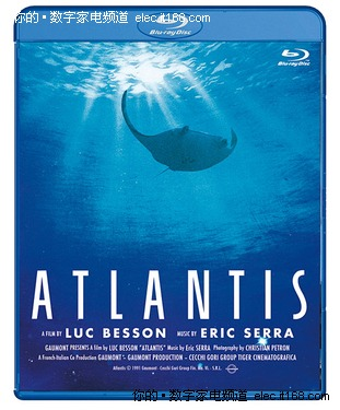法经典电影《碧海蓝天》蓝光碟9月有售