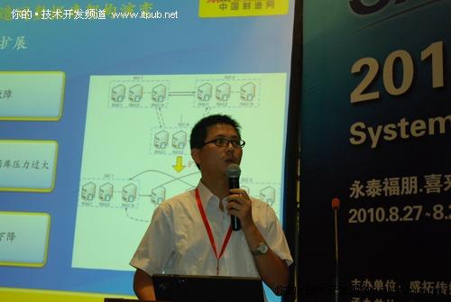 2010 SACC王宝:架构没有最好只有最合适