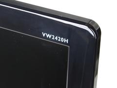 高贵优雅超薄机身 明基VW2420H外观详解