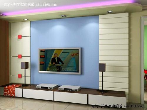 不同风格电视背景墙效果图