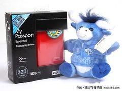 320G仅399 西数My Passpor硬盘低价热销