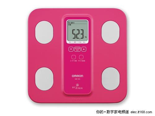 科学减肥 欧姆龙推HBF-203脂肪测量仪