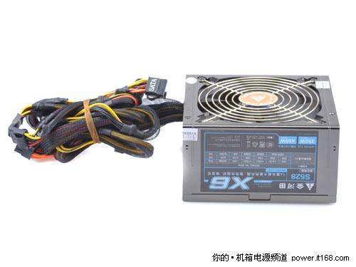 驾驭中高端应用 金河田超静音350W电源