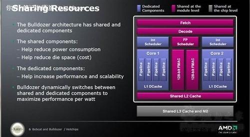 AMD公布推土机、山猫新架构等大量细节