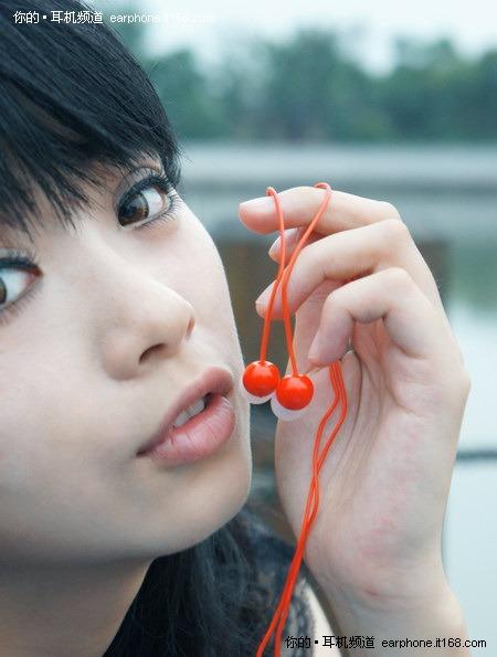 樱桃成熟时 先锋樱桃耳机CL23诱惑图赏