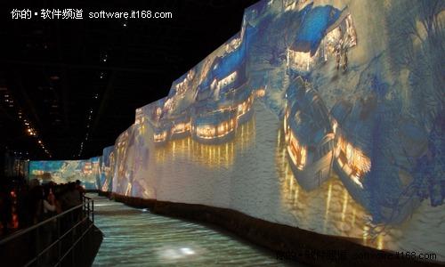 2010上海世博会中国馆内极致展现《清明上河图》