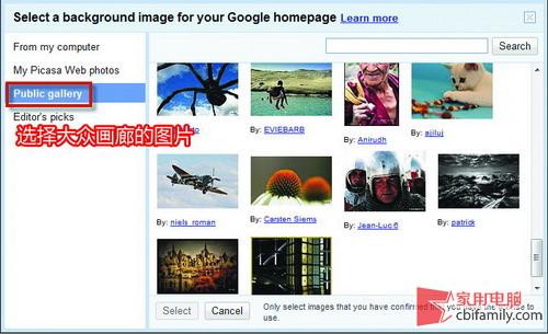 略施小计 为谷歌首页加上漂亮的背景图