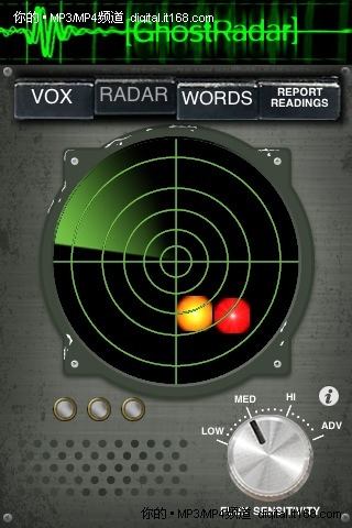 鬼怪雷达侦测超自然活动