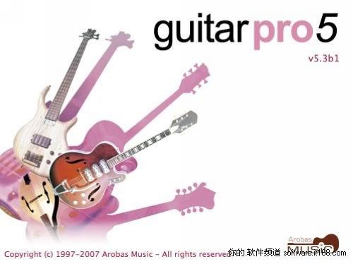 吉他谱软件guitarprov5.3b1