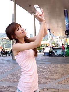 美女写真 教你拍诺基亚N8最佳人像照片