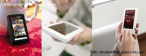 超大160GB容量 COWON推4.3寸MP4新品X7