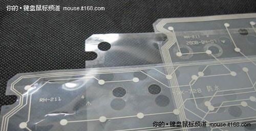 薄膜键盘内部电路层