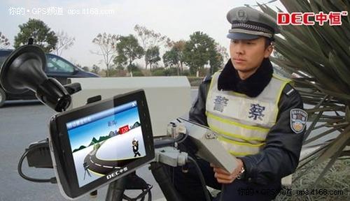 GPS解决交通拥堵 中恒TM800超立体快吧