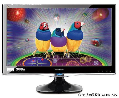 精品LED显示器推荐 优派VX2450wm