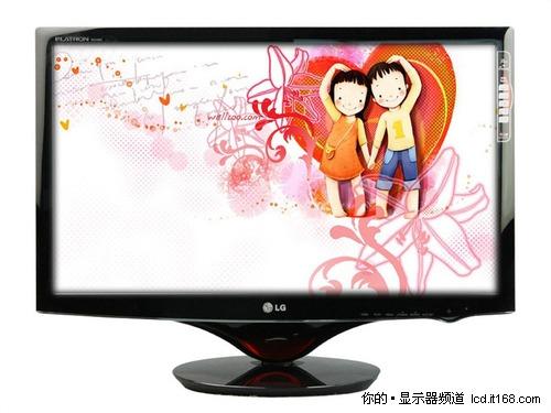 24吋华美LED配备双HDMI LG W2486L热卖