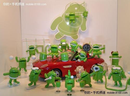 多款Android机器人主题玩具将在韩发售