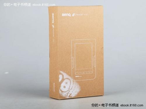 纯纸质包装; 环保包装设计-无线电容触摸 明基sipix电子书k61评测
