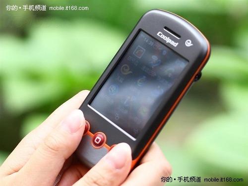 橘色旋风青春靓丽超值3G 酷派E230评测