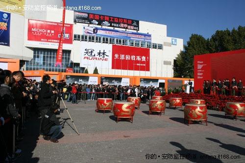 快讯:2010北京安博会开幕式盛况空前