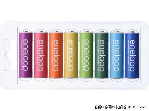 [北京]彩色环保三洋电池限量仅售249元