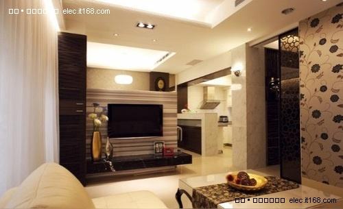【美式豪宅透天别墅客厅电视柜; 2011年电视背景墙集合十七; 多种风格