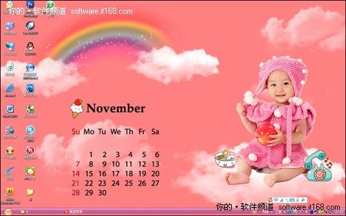 实例一:粉红梦幻系(抠图 饰品) 图1     妈妈们先看看这张粉嫩的