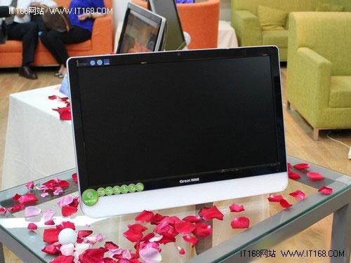 LED+全触屏 长城Z2588 touch售价2849元