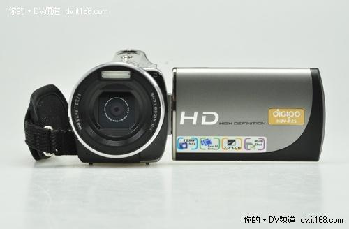 双卡高清机 德浦HDV-P25数码摄像机简评