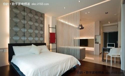 现代简约卧室装修风格;