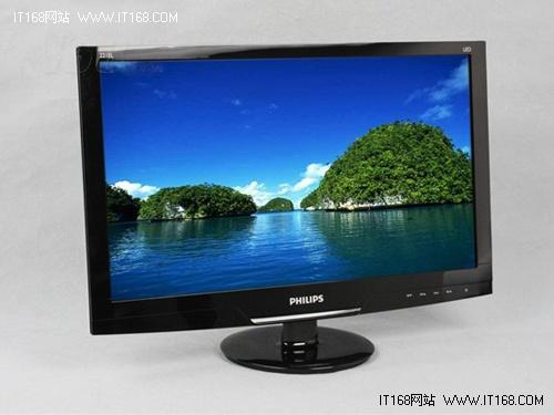 1080P+LED背光 飞利浦221EL2SB市场热销