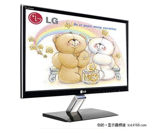 水晶底座+超薄机身 LG E2260T销量火爆