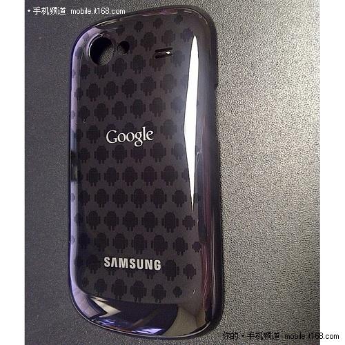 限量版谷歌Nexus S 电池盖上布满机器人