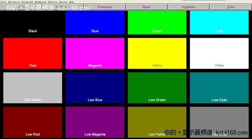 专业显示设备检测软件 DisplayMate