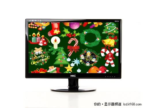 准24��LED大屏 HKC S2413L显示器评测