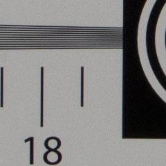 广角端锐度成像对比展示