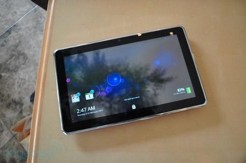 另类平板系统 MeeGo平板机操作演示视频