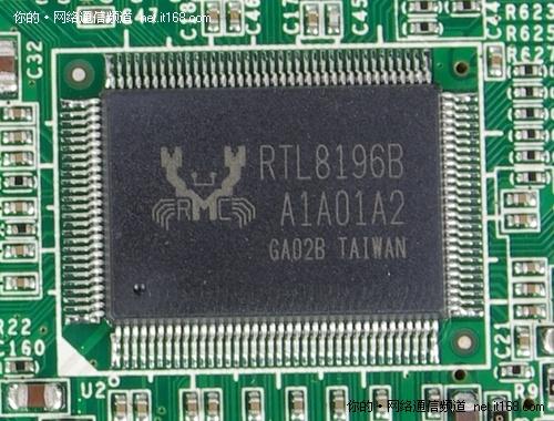 主芯片:realtek 的rtl8196b芯片, 整合了高效能的32bit risc cpu
