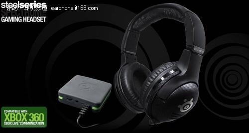 专属Xbox360玩家 SteelSeries无线耳机