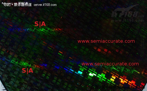 AMD推土机缓缓驶来 晶圆局部近照曝光