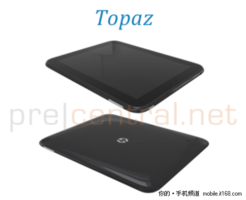 WebOS平板终于露面 惠普Topaz细节曝光